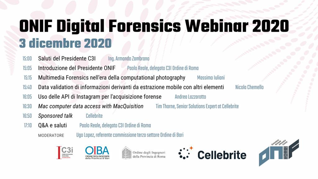 Digital Forensics Webinar 2020